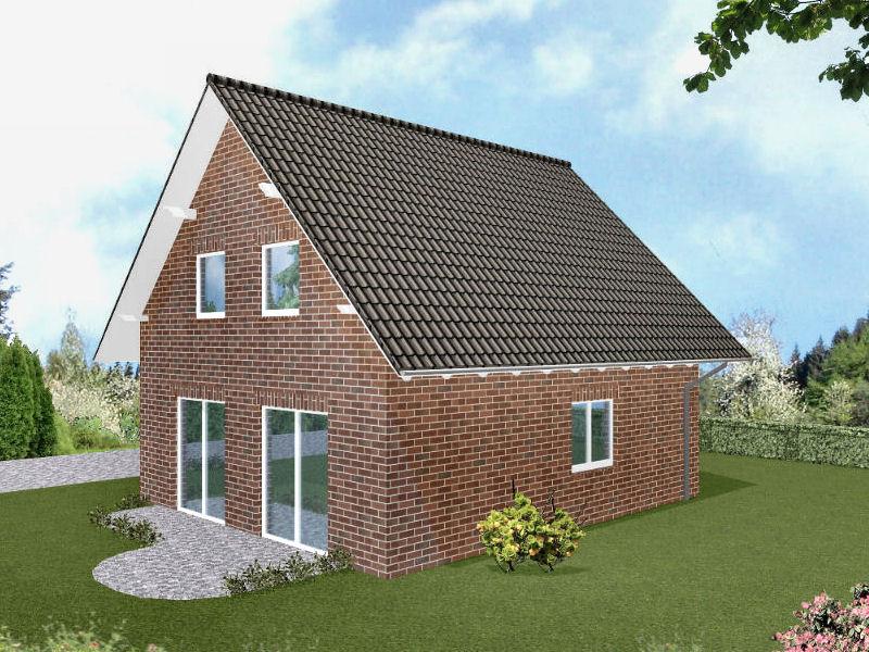 Haus mit Verblenderfassade