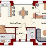 Einfamilienhaus Wilna - Erdgeschoss