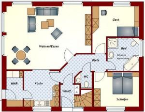 Zweifamilienhaus Ammerland - Erdgeschoss