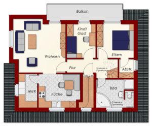 Zweifamilienhaus Friesland - Dachgeschoss