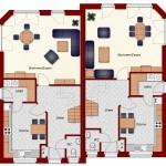 Doppelhaus Schaumburg - Erdgeschoss