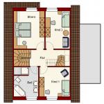 Einfamilienhaus Wismar - Dachgeschoss
