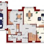 Einfamilienhaus Riga - Erdgeschoss