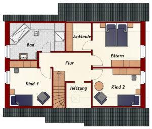 Einfamilienhaus Emden - Dachgeschoss