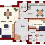 Einfamilienhaus Emden - Erdgeschoss