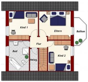 Einfamilienhaus Rostock - Dachgeschoss