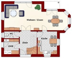 Einfamilienhaus Rostock - Erdgeschoss
