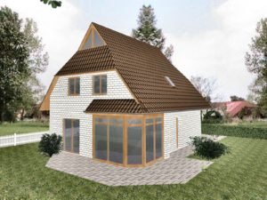 Einfamilienhaus Wismar - Ausbauhaus Verblenderfassade (gegen Aufpreis)