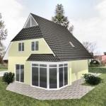 Einfamilienhaus Wismar - Ausbauhaus mit Putzfassade