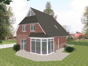 Einfamilienhaus Wiesmar - Ausbauhaus Verblenderfassade (gegen Aufpreis)
