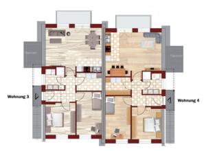 Dachgeschoss Grundriss